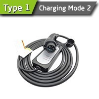 16A Portable Nisaan Leaf Charging Point For Electric Vehicle Charging