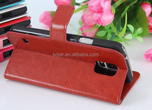 high quality pu leather Flip phone case for iphone 6, 6 plus, samsung s4/s5..LG