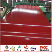 Cost price color coated steel coil and sheet for roofing shingle