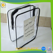 Custom new design cosmetic bag, hook bag , PVC photo bag,