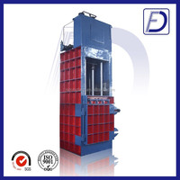 new style used clothes and textile compress baler machine manufacturer