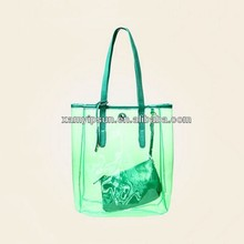 Candy Colorful Clear Large Tote Beach Shopping Bag