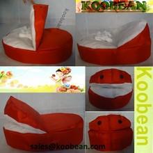 Baby bean bag,hot red baby bean bag chairs,bean bag sofa for baby sleeping