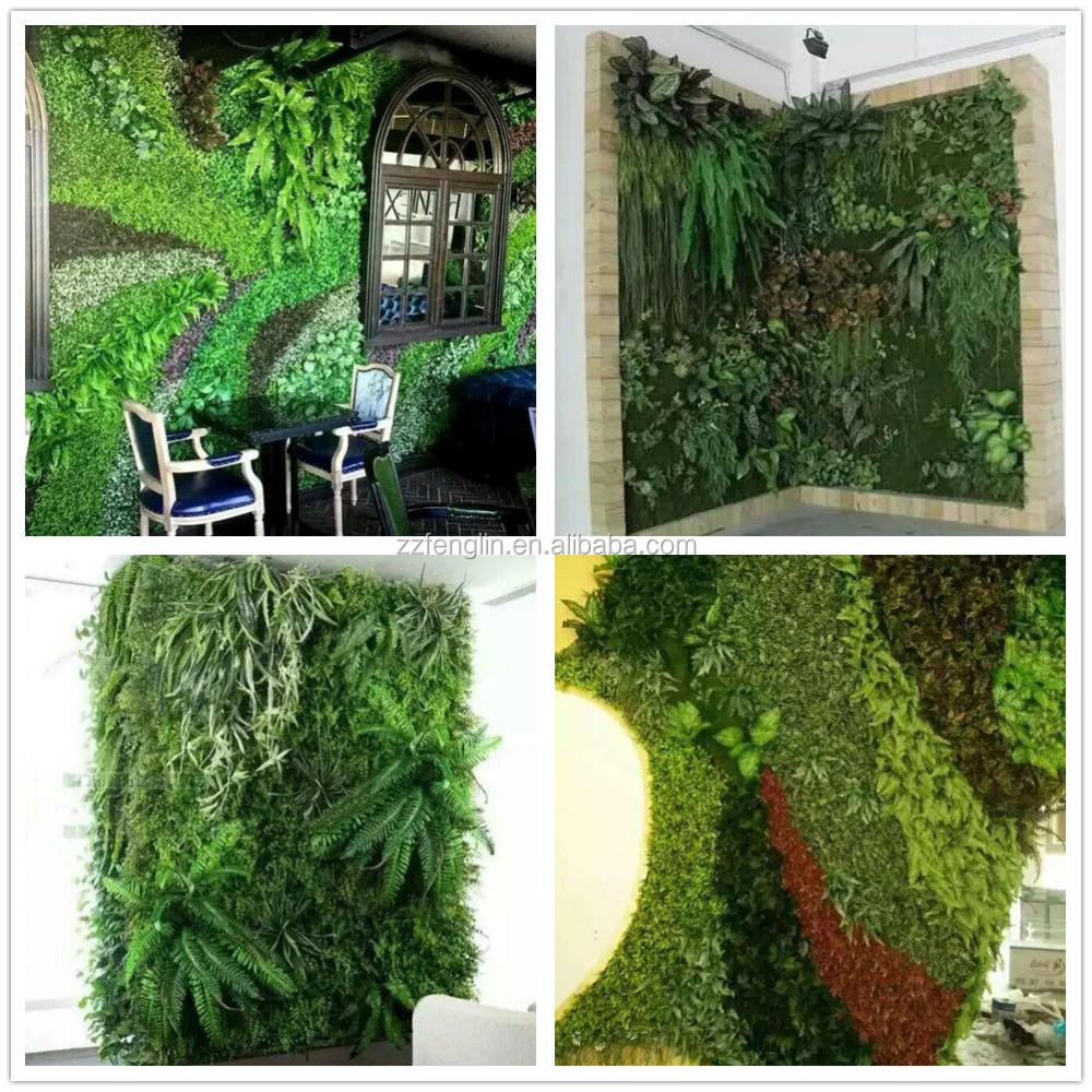 Long durable diy faux mur v g tal pas cher d coratif mur v g tal artificielle - Mur vegetal exterieur pas cher ...
