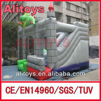 small dinosaur inflatable bouncer,popular inflatable combo