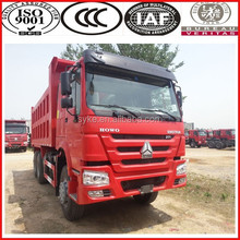 251hp-350hp Manual Transmission 6*4 drive sinotruk brand howo truck with aire conditioner/berth