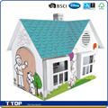 Disney auditoria bsci& fábrica de pintura diy cartão de brincar de casinha