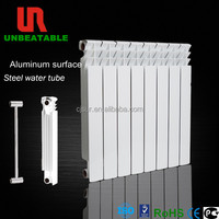 Italian Design Water Aluminum Radiator with Steel Tube Inside