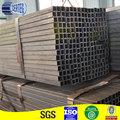 Formados a frio ERW Quadrado Preto tubos de ferro galvanizado Dimensões Quadrado Preto Ferro Piping