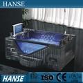 Hs-b313a ясно бесплатная летают черный ванна / ванны и whirpools / большой размер ванна / whirpool