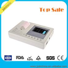 Portable 3 Channel Interpretive ECG EKG Monitor China Top Medical device holter stress test manufacturer