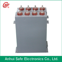 oil type 500uF 3500VDC high voltage pulse capacitor