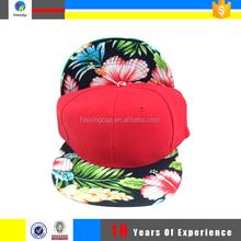 custom snapback cap,blank floral snapback hat cheap