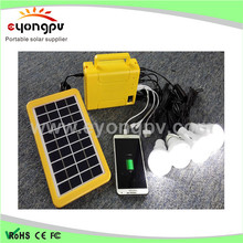 2015 ho t3w/12v home solar system for home lighting