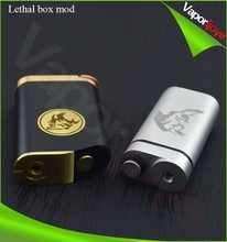 New Electronic Cigarette product Lethal HIGH-END MECHANICAL BOX MODS