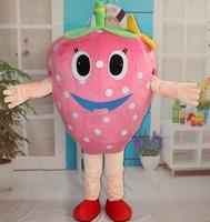 Factory direct sell EVA strawberry costume handmade nice strawberry mascot costume for adult