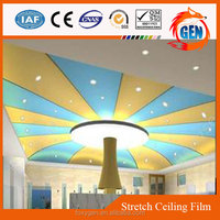 modern high stretch pvc ceiling waterproof film