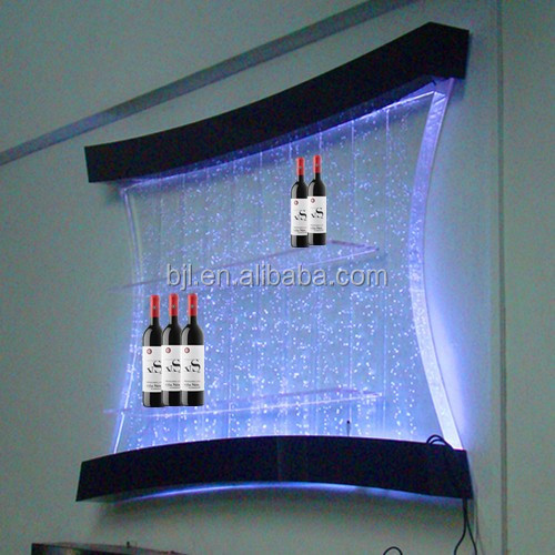 fabricant led acrylique bouteille mur vitrines acrylique. Black Bedroom Furniture Sets. Home Design Ideas