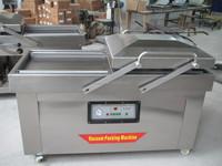 Double vacuum packing machine with famous brand pump DZ(Q)-500/2SB