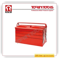 New popular stainless steel tool box aluminum briefcase tool box small metal tool box