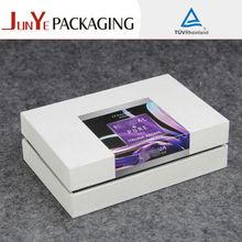 Caja de madera rígida Pequeño embalaje de regalo para la boda