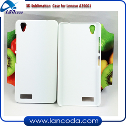 3D mobile phone cover/Polymer sublimation blank case for Lenovo A3900