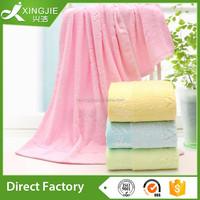 2015 Hot China Supplier professional customize logo jacquard 100 bamboo fiber bath towel