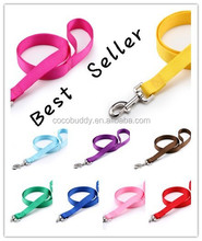 Wholesale best selling nylon dog leash with factory price in stock