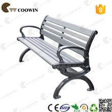 Wood composite outdoor furniture bench