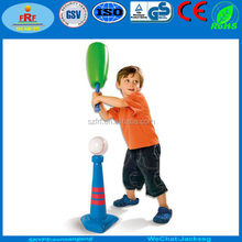 Inflatable Big Boom Bat and Tee, Inflatable Big Boom Baseball bat Tee