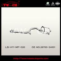 stainless steel auto silencer exhaust muffler28700-24501