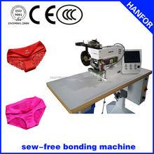 2014 shanghai hanfor automático utilizadas máquinas de costura industriais para seamless hipster deslizamento