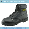 leather safety shoes/protective working shoes/safety work boots