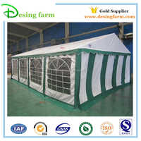 High quality heated party tents