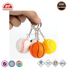 basketball keychain,football keychain,sport style keychain accessories custom 3d keychains