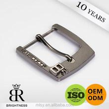 High quality real gun remove belt buckle for man Brightness G5-80034