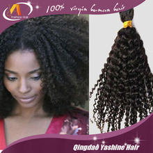 Best Selling Hair Products 100% 7A Virgin brazilian Hair /Kinky Curly Hair for black women