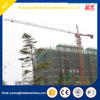 high quality max load 6t, jib tip 1t,50m boom, 30 height tower crane manfacture
