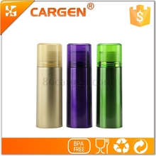 Bright color novelty gift small shape 370ml stainless steel thermos bottle