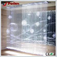 Best sale High Quality fiber optic waterfall light curtain