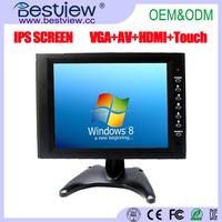 1024*768 high resolution HDMI VGA 10 inch computer monitor