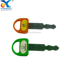 Promotional 2015 Newest Nice Funny Plastic Car Key Shape Toy Pen