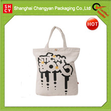 Natural recycled shopping cotton bag (COT-068)