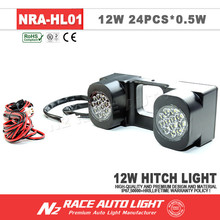 2015 Newest Auto Parts IP67 12w LED Driving and Turn Signal Hitch Light with CE Certificate