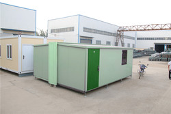 easy transport sale practical wellinsulated steel folding container house for military