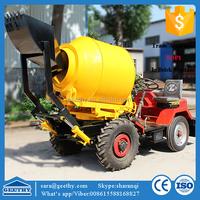 GT80 diesel concrete batching mixer / simple concrete mixer