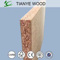 100% eco- friendly formaldehyde free green particle board