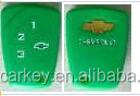 TopBest silicone car key cover with 3 buttons for chevrolet key cover silicone car key chevrolet