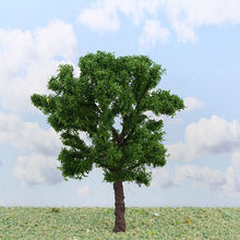 model wire iron tree, sand table model material background building model(s-i45)