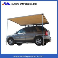 2.5m Pullout Awning for 4x4's, Vans Or Motor Homes, Small Expedition Awning